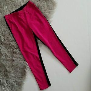 Ralph Lauren Leggings Pink Black Size M